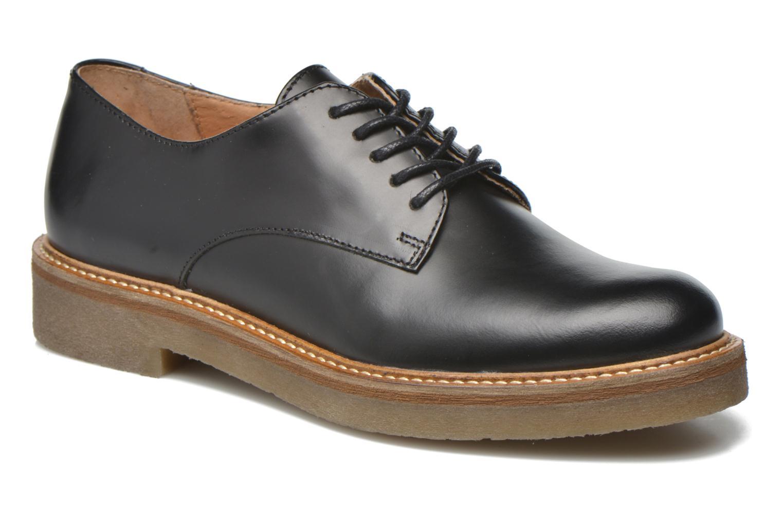 Gran descuento cordones  Kickers Oxfork (Negro) - Zapatos con cordones descuento en Más cómodo e3a038