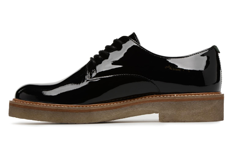 Chaussures à lacets Kickers Oxfork Noir vue face