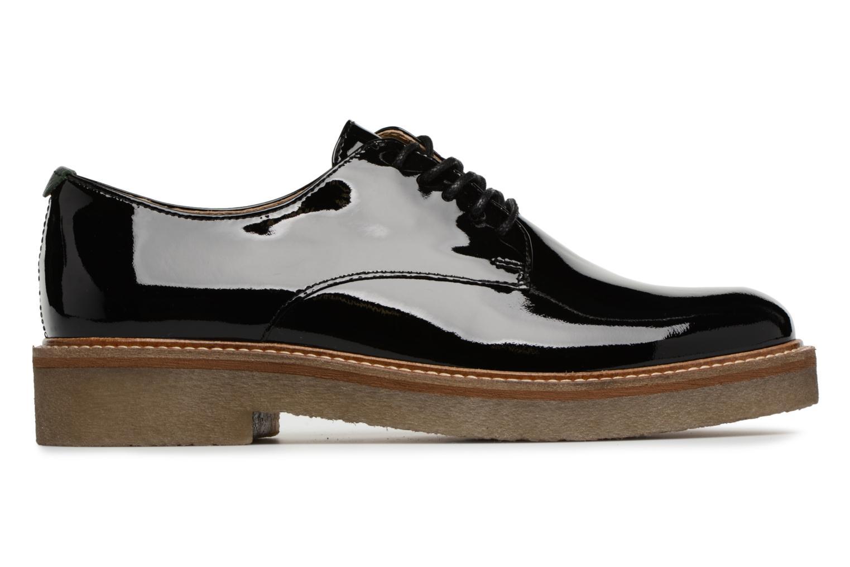 Chaussures à lacets Kickers Oxfork Noir vue derrière