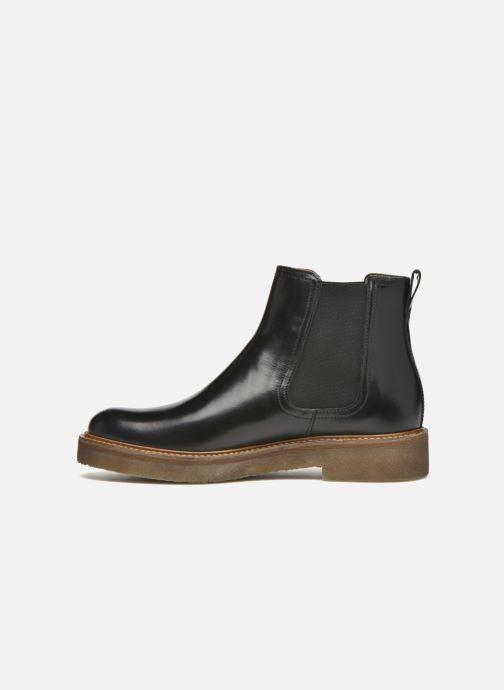 Stiefeletten & Boots Kickers Oxfordchic schwarz ansicht von vorne