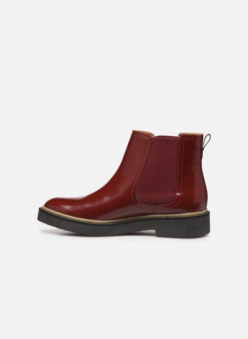 Bottines et boots Kickers Oxfordchic Rouge vue face