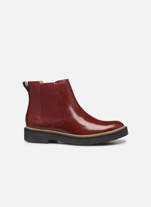 Bottines et boots Kickers Oxfordchic Rouge vue derrière