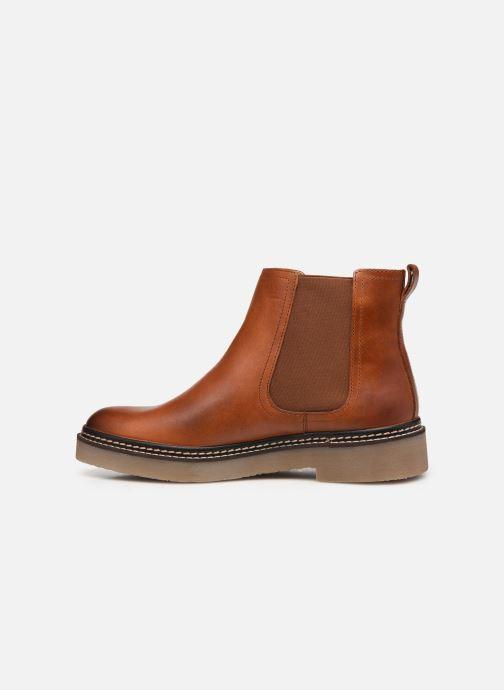 Bottines et boots Kickers Oxfordchic Marron vue face
