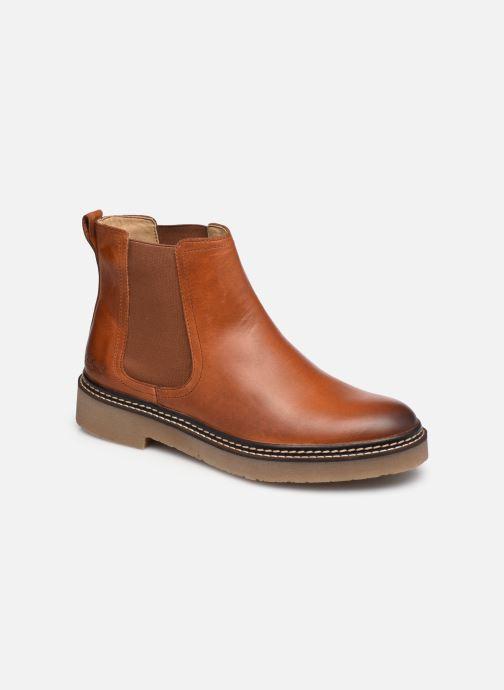 Bottines et boots Kickers Oxfordchic Marron vue détail/paire