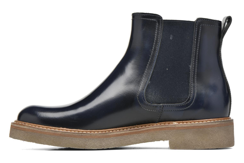 Bottines et boots Kickers Oxfordchic Bleu vue face