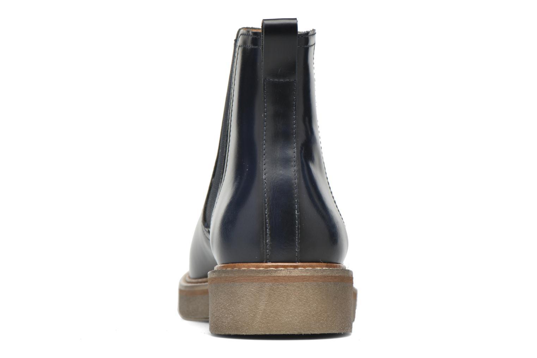 Bottines et boots Kickers Oxfordchic Bleu vue droite