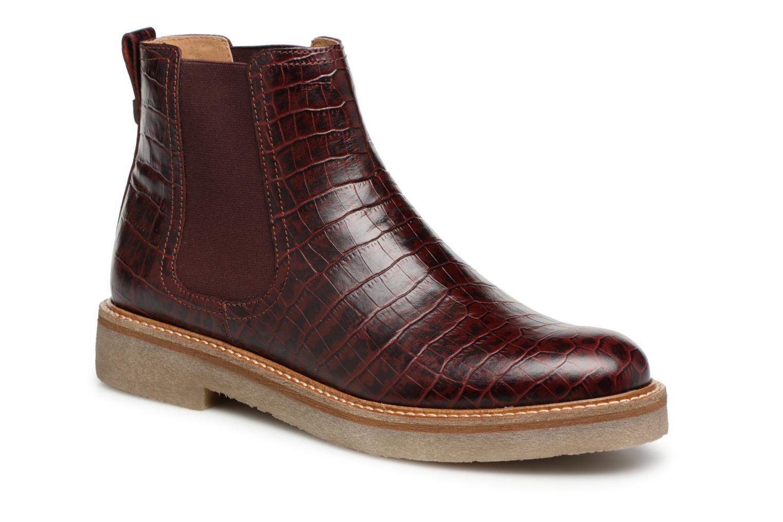 Nuevo zapatos Kickers Oxfordchic Más (Vino) - Botines  en Más Oxfordchic cómodo 13756b