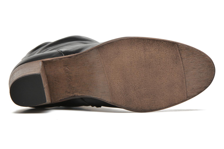 Bottines et boots Kickers Dailystic Noir vue haut