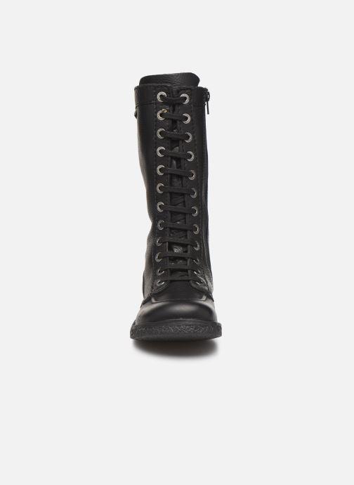 Stiefeletten & Boots Kickers Meetkiknew schwarz schuhe getragen