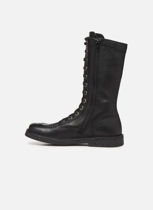 Boots en enkellaarsjes Kickers Meetkiknew Zwart voorkant