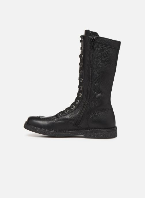 Bottines et boots Kickers Meetkiknew Noir vue face