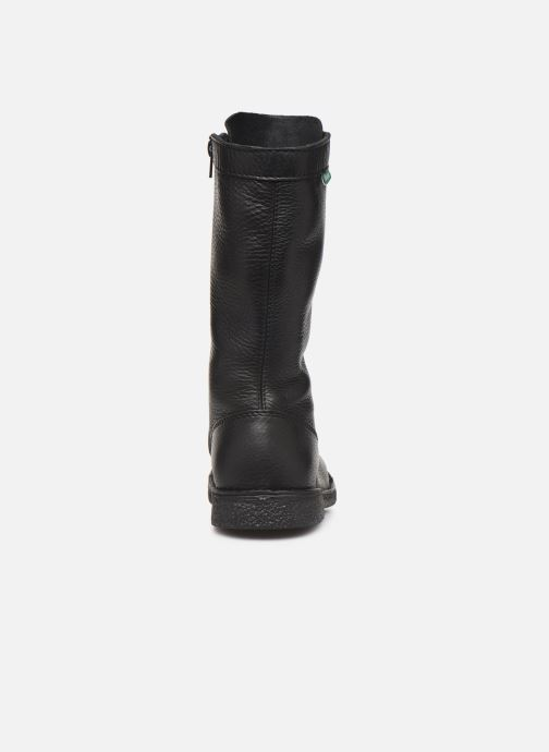 Bottines et boots Kickers Meetkiknew Noir vue droite