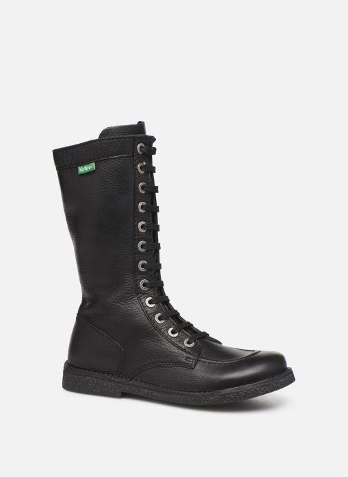 Boots en enkellaarsjes Kickers Meetkiknew Zwart detail