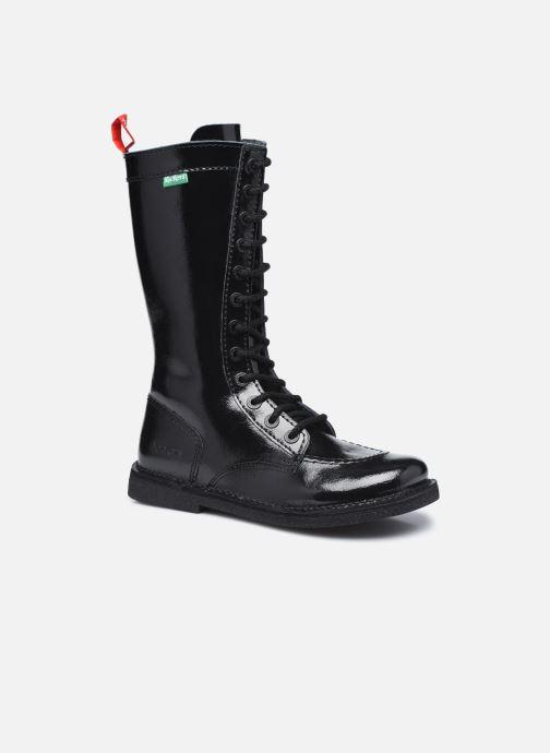 Bottines et boots Kickers Meetkiknew Noir vue détail/paire