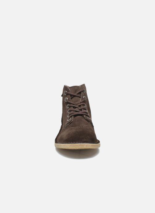 Boots en enkellaarsjes Kickers Orilegend F Bruin model