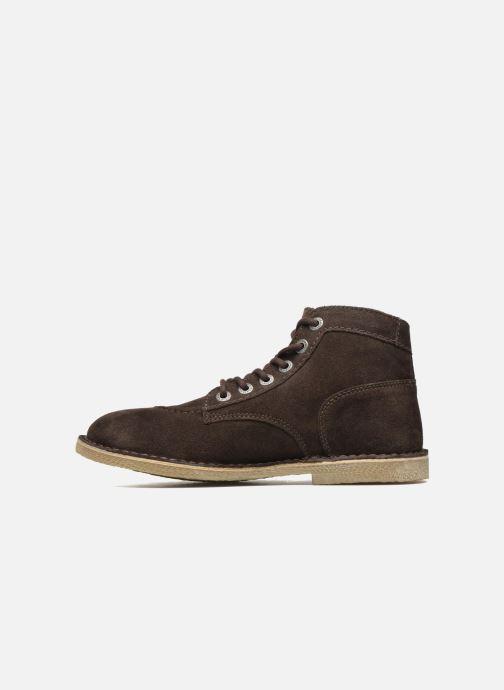 Boots en enkellaarsjes Kickers Orilegend F Bruin voorkant