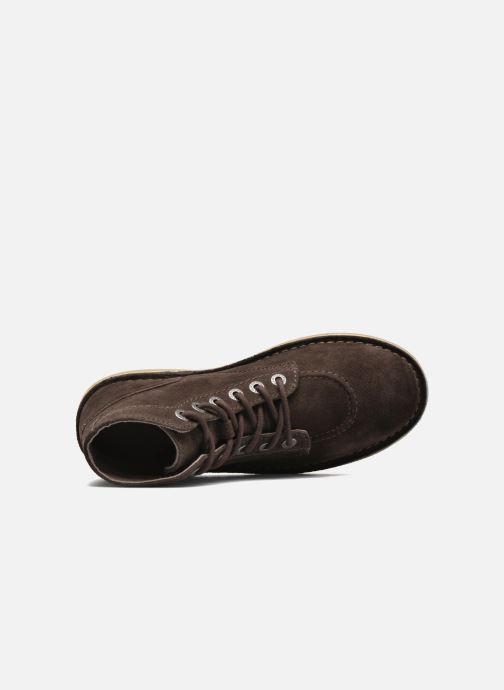 Chaussures F Marron Orilegend Foncé À Kickers Lacets Yyfg6vb7