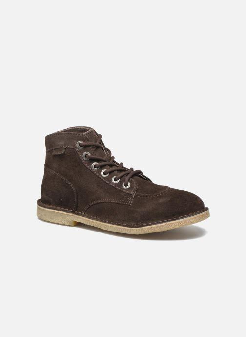 Boots en enkellaarsjes Kickers Orilegend F Bruin detail