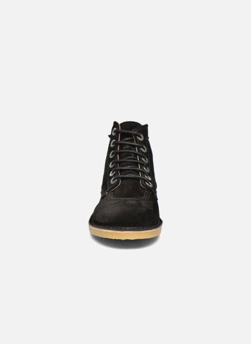 Schnürschuhe Kickers Orilegend F schwarz schuhe getragen