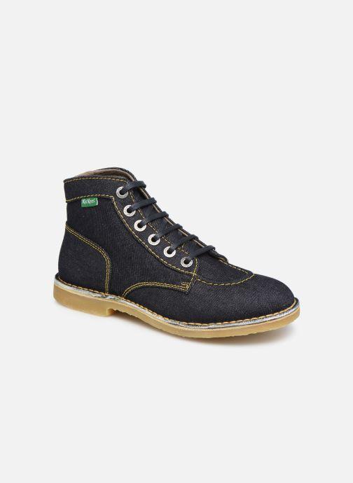Bottines et boots Kickers Orilegend F Bleu vue détail/paire