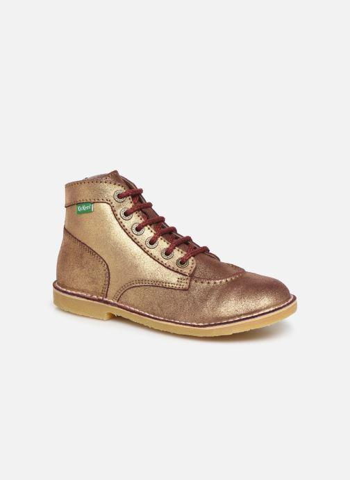 Bottines et boots Kickers Orilegend F Or et bronze vue détail/paire