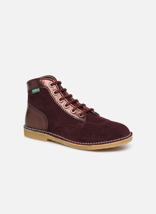 Bottines et boots Kickers Orilegend F Violet vue détail/paire