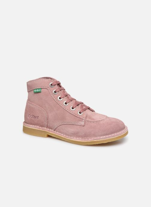 Kickers Orilegend F (Rose) Bottines et boots chez Sarenza