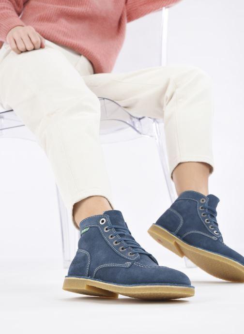 Stiefeletten & Boots Kickers Orilegend F blau ansicht von unten / tasche getragen