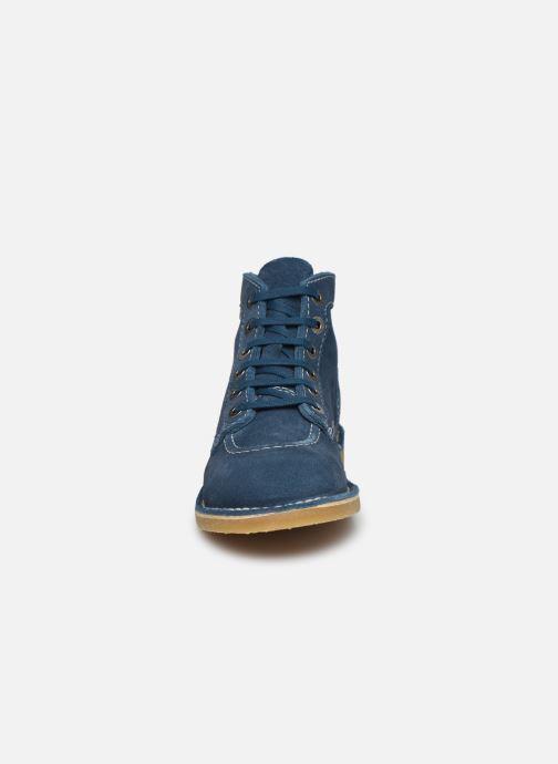 Stiefeletten & Boots Kickers Orilegend F blau schuhe getragen