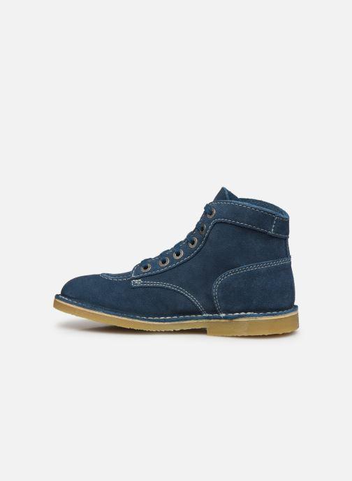 Stiefeletten & Boots Kickers Orilegend F blau ansicht von vorne