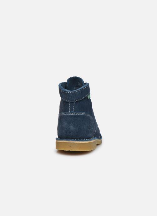 Stiefeletten & Boots Kickers Orilegend F blau ansicht von rechts