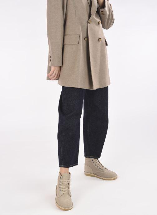 Stiefeletten & Boots Kickers Orilegend F beige ansicht von unten / tasche getragen