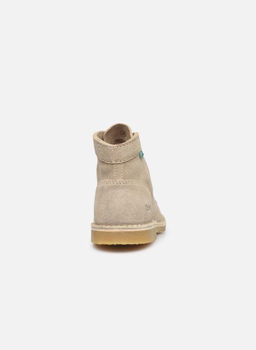 Stiefeletten & Boots Kickers Orilegend F beige ansicht von rechts
