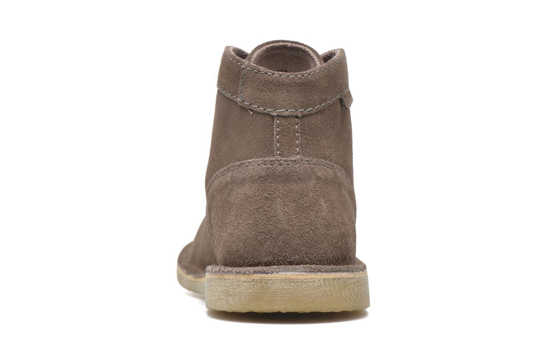Chaussures à lacets Kickers Orilegend F Beige vue droite