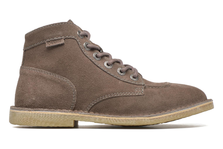 Chaussures à lacets Kickers Orilegend F Beige vue derrière
