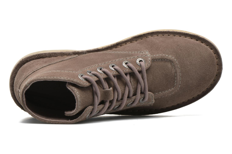 Chaussures à lacets Kickers Orilegend F Beige vue gauche