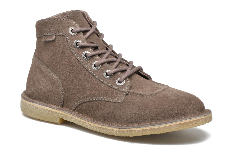 Chaussures à lacets Kickers Orilegend F Beige vue détail/paire