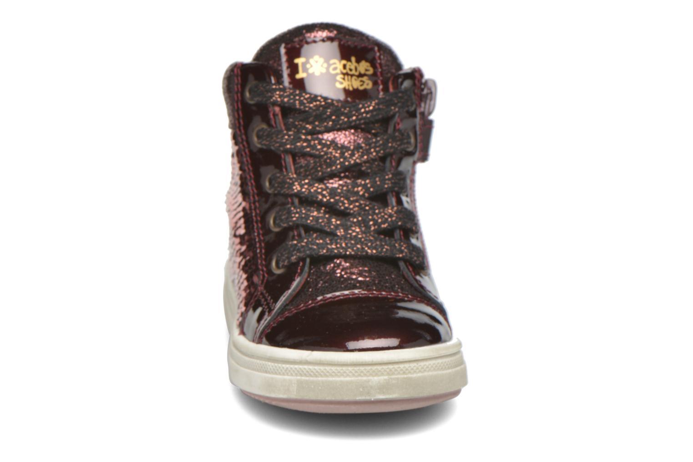 Baskets Acebo's Sequina Bordeaux vue portées chaussures