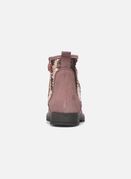 Ankle boots Acebo's Botina Pink view from the right