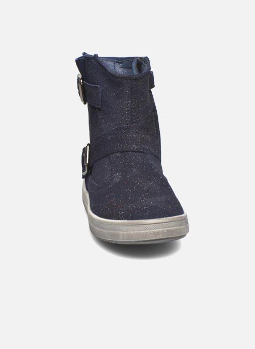 Bottes Acebo's Silva Bleu vue portées chaussures