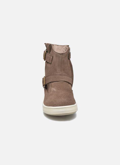 Bottes Acebo's Silva Gris vue portées chaussures