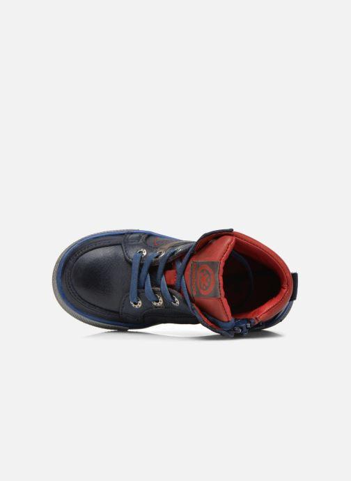 Sneakers Acebo's Paulo Azzurro immagine sinistra