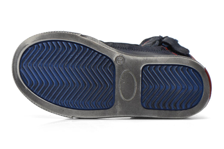 Baskets Acebo's Paulo Bleu vue haut