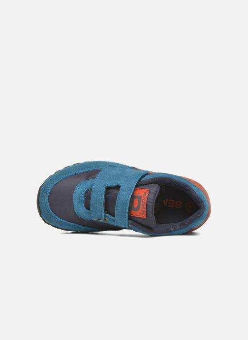Baskets Bensimon C81 Running Bleu vue gauche