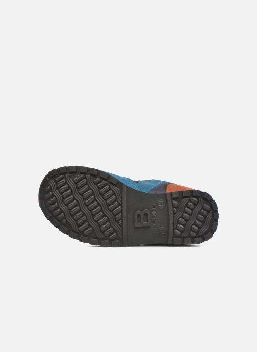 Baskets Bensimon C81 Running Bleu vue haut