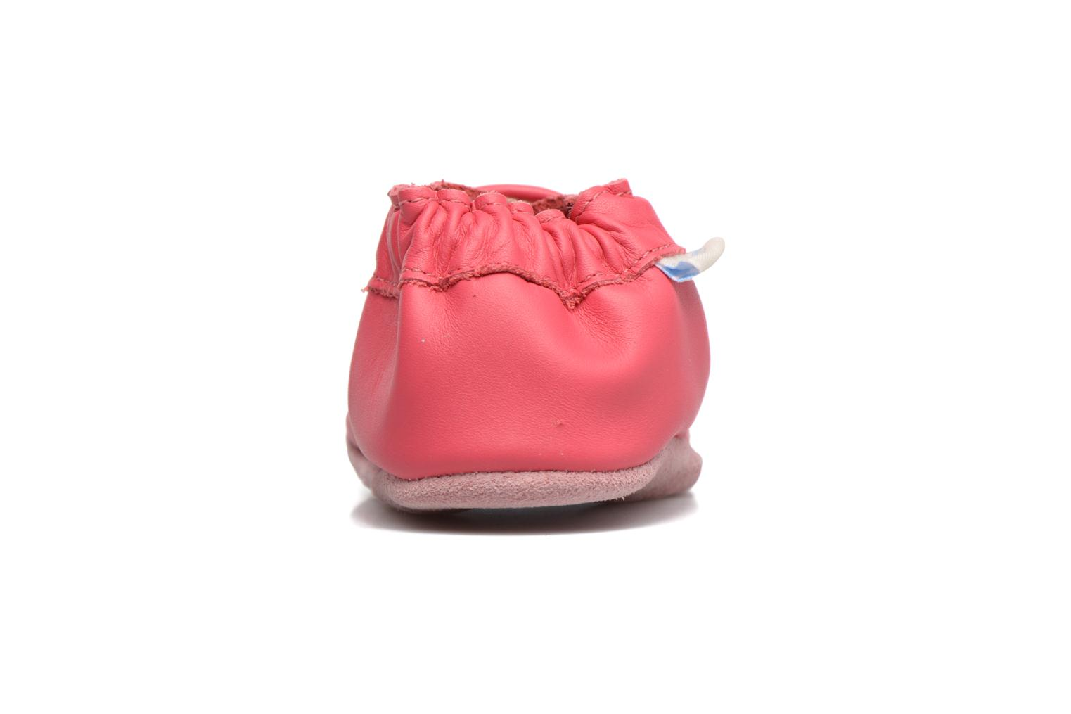 Chaussons Robeez Snowy Owl Rose vue droite
