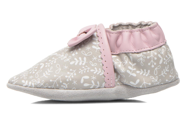 Pantoffels Robeez Tenderness Grijs voorkant