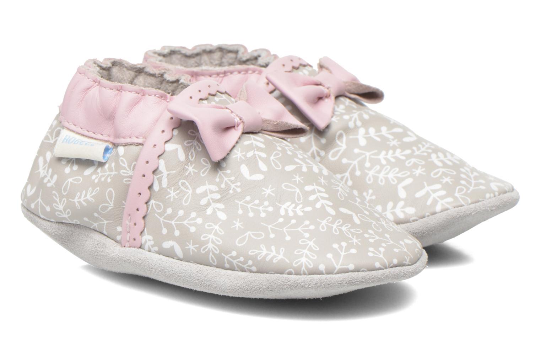 Pantoffels Robeez Tenderness Grijs detail