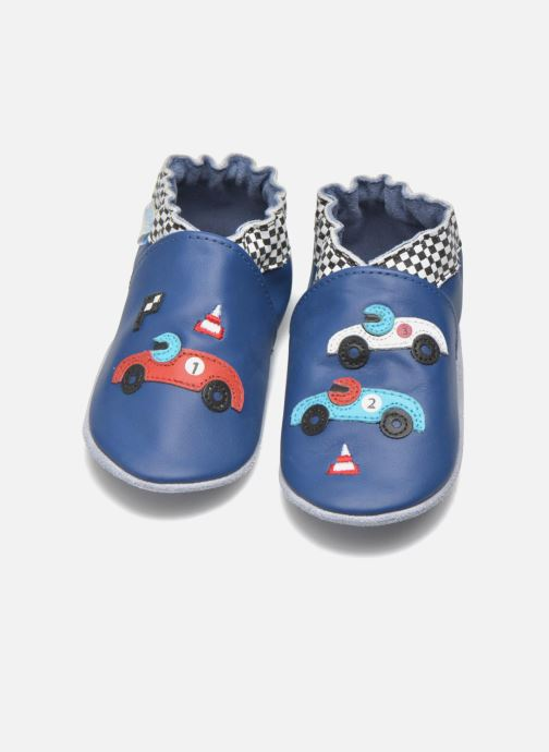 Slippers Robeez Speed Blue 3/4 view