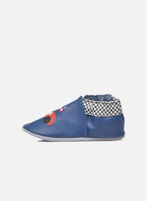 Slippers Robeez Speed Blue front view